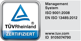 Laser validiert nach EN ISO 13485
