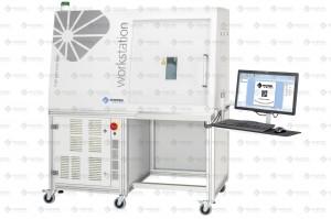 Lasermarkiersystem WORKSTATION mit ps-Laser CEPHEUS