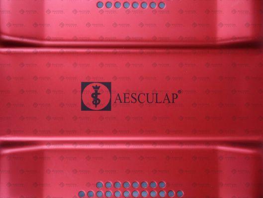 ps-Laser Markierung auf Sterilcontainer