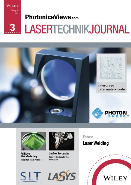 Beitrag Lasertechnik Journal