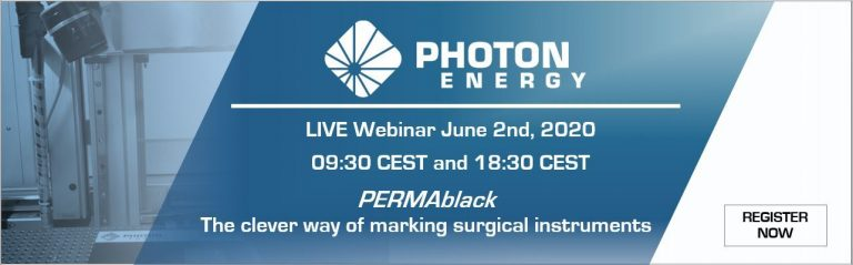 Live-Webinar: PERMAblack, the clever way of marking surgical instruments
