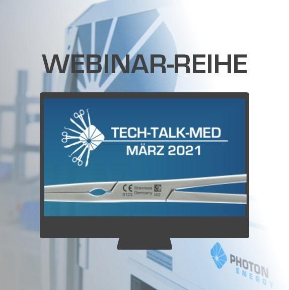 Tech Talk Med Online Vortragsreihe