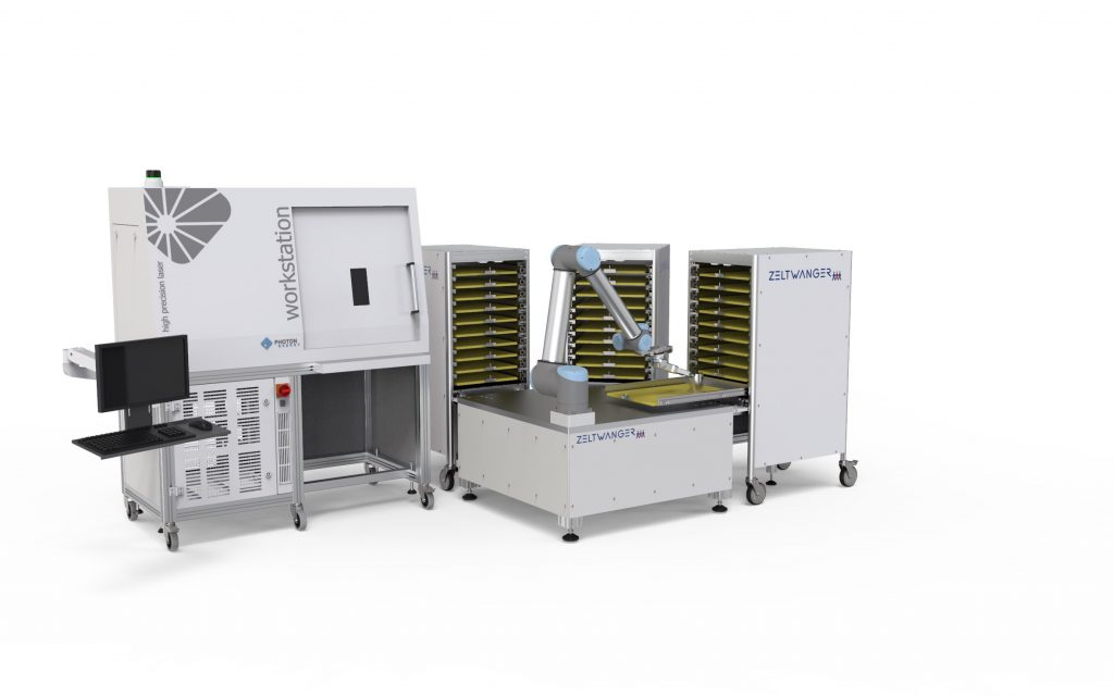 Automatisierung von Prozessen mit PHOTON ENERGY Lasern und Zeltwanger Automation