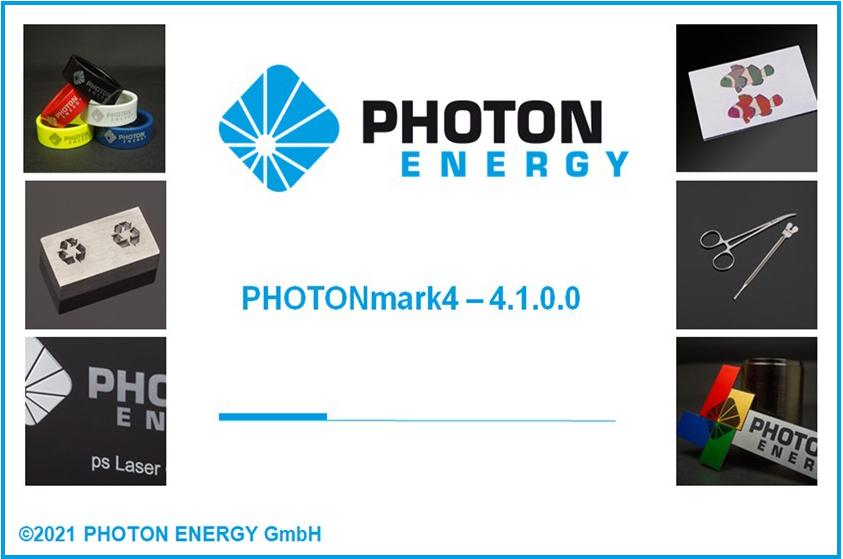 Benutzeroberfläche unserer Lasermarkier-Software PHOTONmark