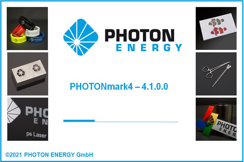 Graphic Intuitive Editor of our Laser Marking Software PHOTONmark