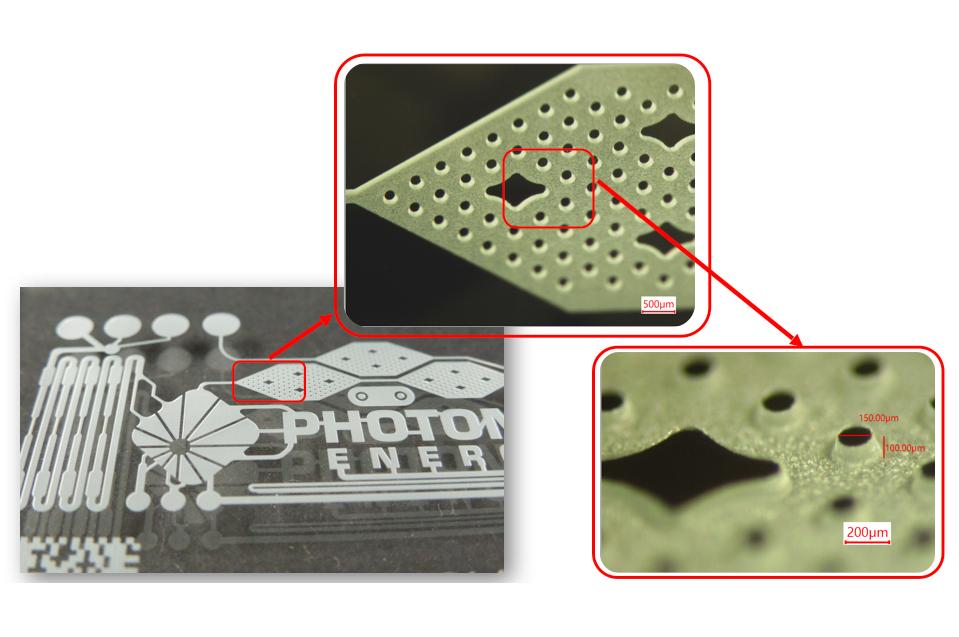 Mikrofluidic Lab-on-a-Chip Mikrobearbeitung von Glas mit Ultrakurzpulslaser