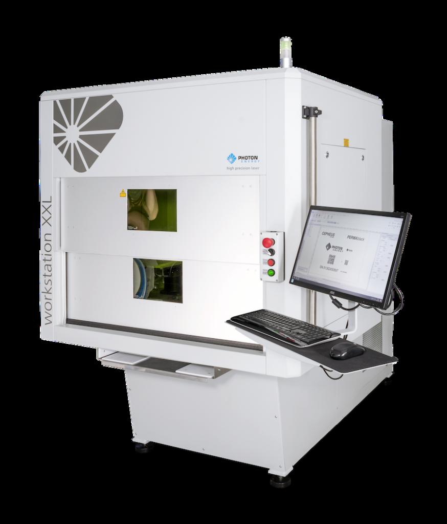 Laser Marking System WORKSTATION XXL for Laser Marking, Laser Engraving, Micromachining, Laser Cutting, and Laser Drilling