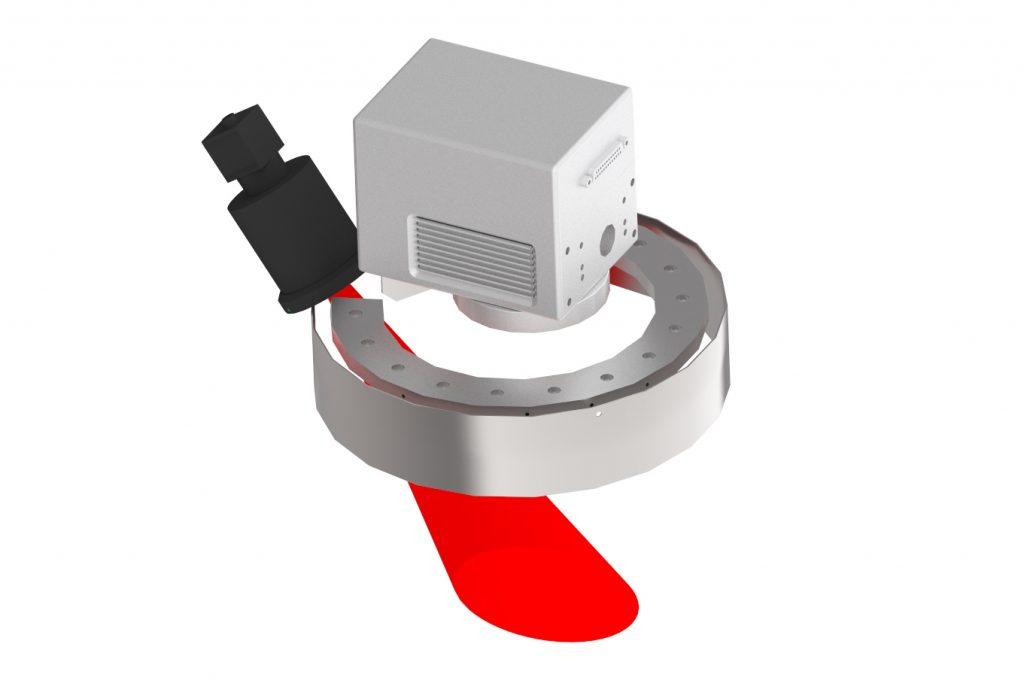 Laser Vision System CamVision for high-precision Laser Marking