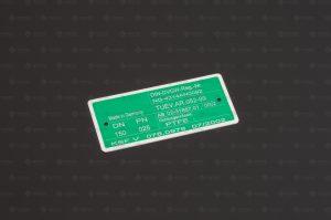 Laserbeschriftung Abtrag von Metall