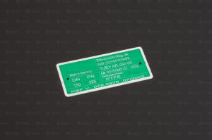 Laserbeschriftung Abtrag von Kunststoff