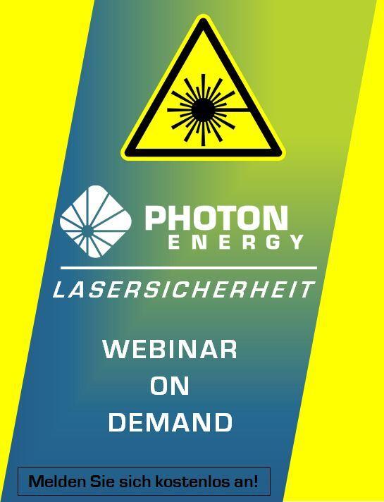 Live Webinar: Lasersicherheit