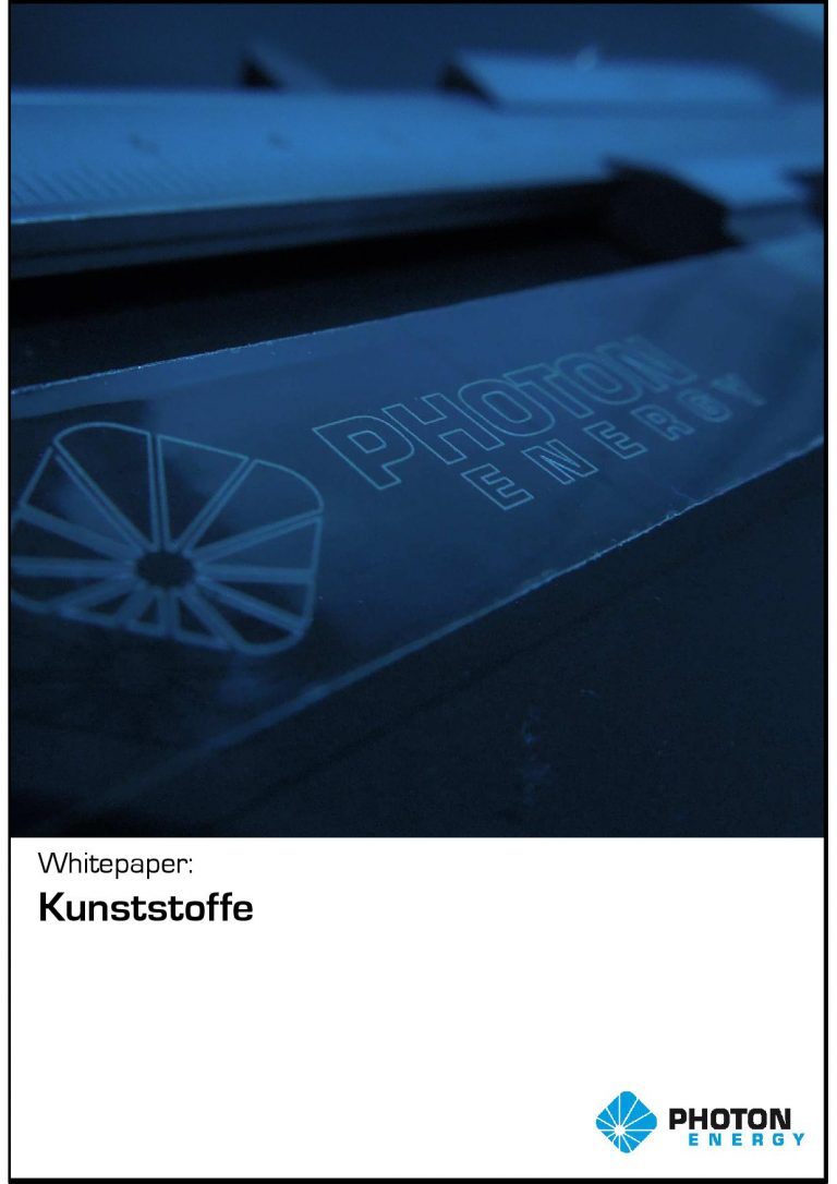 """Whitepaper """"Laserbearbeitung auf Kunststoffen"""""""